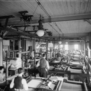 ประวัติการพิมพ์ในโรงพิมพ์ ของประเทศไทย